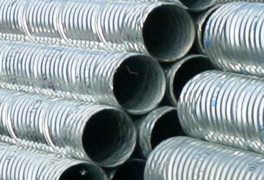 Corrugated Metal Pipe Slotted Drain